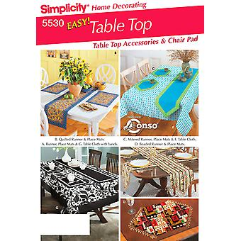 Simplicity Table Accessories One Size U05530os