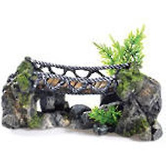 Classic For Pets Rocky Rope Bridge 265mm (Peces , Decoración , Adornos)