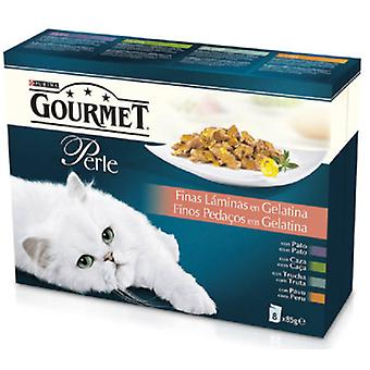Gourmet Thin Slices Assortment Gelatin Mp (Cats , Cat Food , Wet Food)