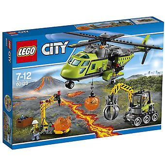 Lego 60123 Volcano Supply Helicopter (Toys , Constructions , Vehicles)