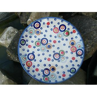 Cake plate, 2nd choice, Ø 18 cm, colorful, BSN m-4655