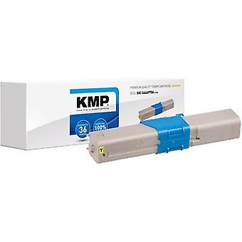 KMP Toner cartridge replaced OKI 44469704 Compatible Yellow 2000 pages O-T30
