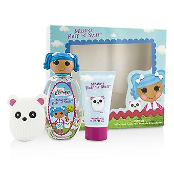 Lalaloopsy vanter fnug 'N' ting søde Coffret: Eau De Toilette Spray 100ml/3,4 oz + Shower Gel 75 ml/2.5 oz + fransk Barrette 3stk