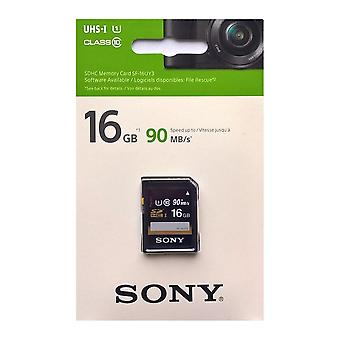 Sony 16GB SDHC Memory Card PERFORMANCE Series Class 10 UHS-1 [U1] (Read 90MB/s)