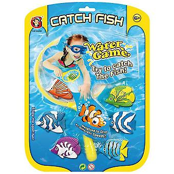 Dimasa Blister 6 Fish With Red Pool (Outdoor , Pool And Water Games , Toys)