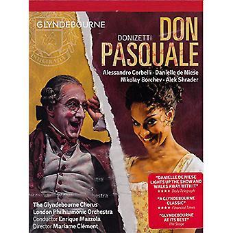 Don Pasquale [DVD] USA importerer