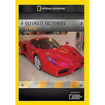 Ultimate Factories: Ferrari [DVD] USA import