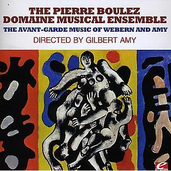 ブーレーズ、ピエール ドメーヌ音楽アンサンブル - ウェーベルンの前衛音楽とエイミー [CD] アメリカ インポートします。