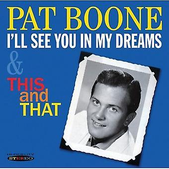 Pat Boone - jeg vil se dig i mine drømme & denne & at [CD] USA import