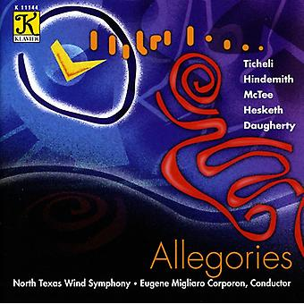 North Texas Wind Symphony - allegorier [CD] USA importerer
