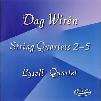 Dag Wiren - Dag Wir N: String Quartets Nos. 3-5 [CD] USA import