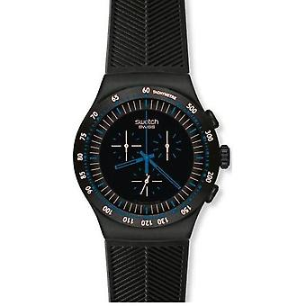 Swatch Blue nel buio Mens Watch YOB103