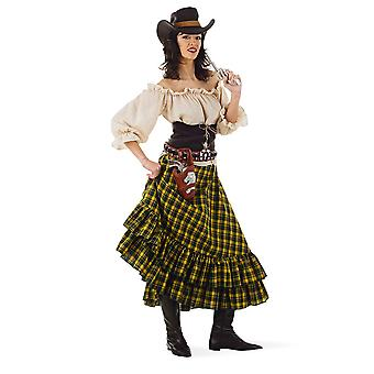 Wild West brigand Cowgirl Rebellin ladies costume