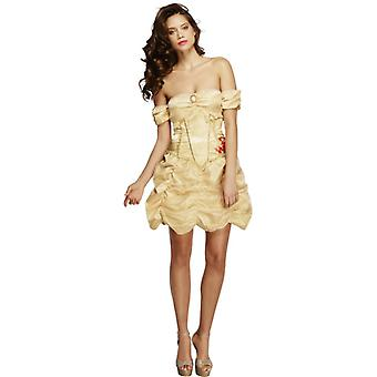 Fever collection Golden Princess costume with dress size S
