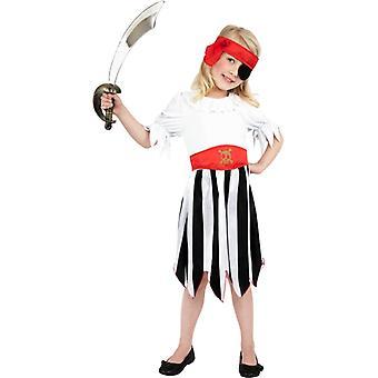 Pirata Costume bambini costume ragazza pirata Costume