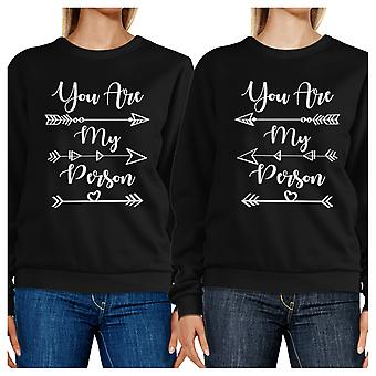 You Are My Person Cute Best Friend Sweatshirts Matching Gift Ideas