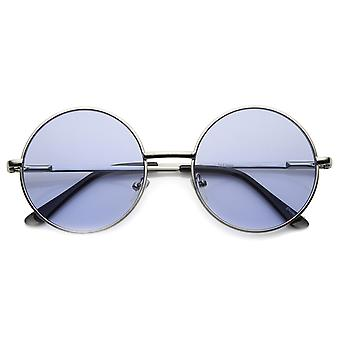 Womens Round Sunglasses With UV400 Protected Composite Lens