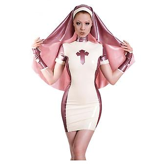 Westward Bound Nymph Nun Latex Rubber Uniform Dress And Habit