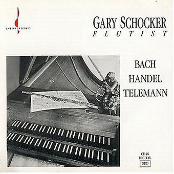 Gary Schocker - Gary Schocker Plays Bach, Handel, Telemann [CD] USA import
