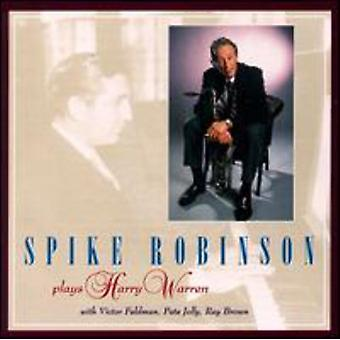 Spike Robinson - spiller Harry Warren [CD] USA import