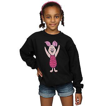 Disney Girls Winnie The Pooh Classic Piglet Sweatshirt