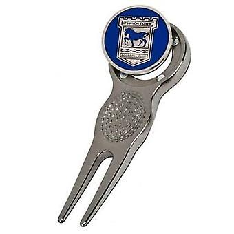 Ipswich Town Divot Tool & Marker