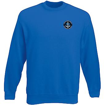 SBS Special Boat Service - Royal Marines Special Forces Embroidered Logo - Official MOD - Heavyweight Sweatshirt