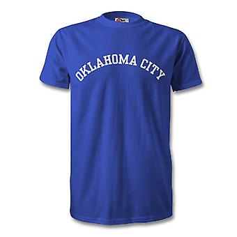 Oklahoma City College stile t-shirt