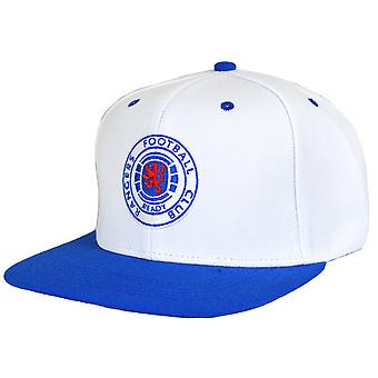 Rangers FC Official Football Crest Snapback Cap