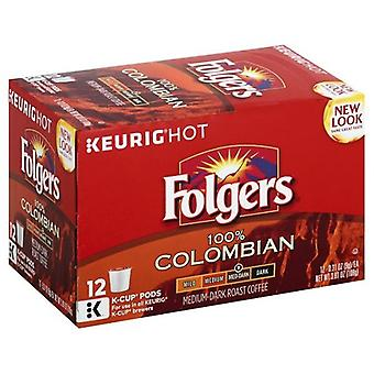 Folgers Coffee 100% Colombian Keurig K-Cups