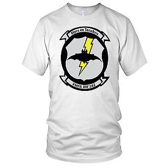 USMC mariniers VMFA AW 242 Insignia schone Effect dames T Shirt