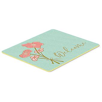 Bunch of Flowers Welcome Kitchen or Bath Mat 20x30