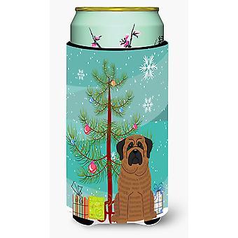 Веселая Рождественская елка мастиф тигровый Талль Boy напитки изолятор Hugger