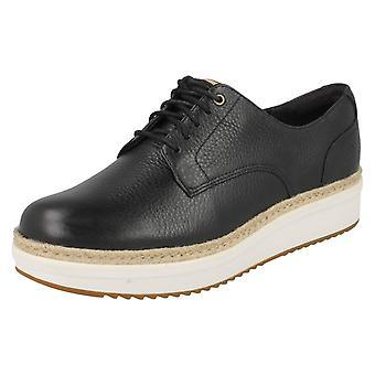 Damen Clarks Brogue Stil Schuhe Teadale Rhea