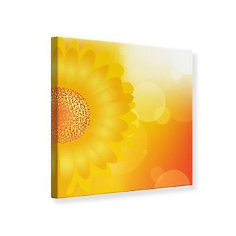 Lærred Print solsikke magt