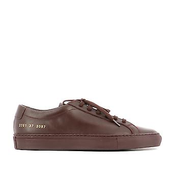 Common projects women's 37013097 brown leather of sneakers