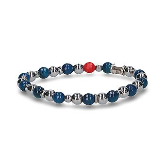 Beamay men's 1716SKYSKY blue other materials bracelet