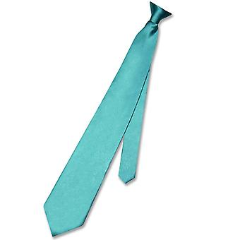 Biagio CLIP-ON NeckTie Solid Men's Neck Tie