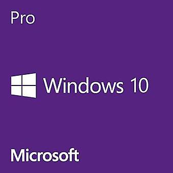 Microsoft Windows® 10 Pro 64-Bit OEM Full version, 1 license Windows Operating system