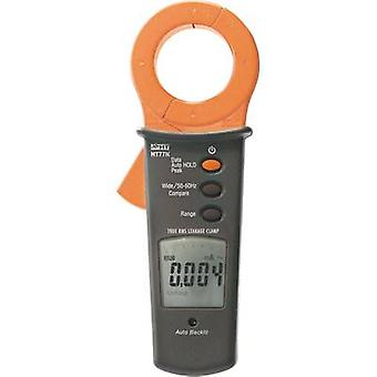Clamp meter Digital HT Instruments HT77N Calibrated to: Manufacturer's standards (no certificate) CAT III 300 V Display