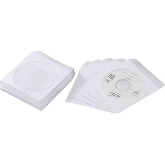 CD-Paper cases White 50 CDs/DVDs