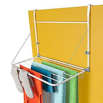 Quirky Slimline-drying rack on the door
