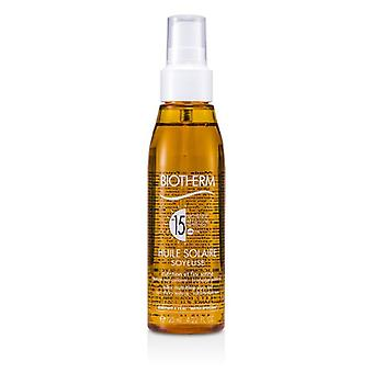 Biotherm Huile Solaire Soyeuse SPF 15 UVA/UVB Protection Sun Oil 125ml/4.22oz
