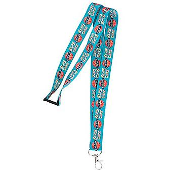 Rick And Morty Blips Chitz Logo Lanyard