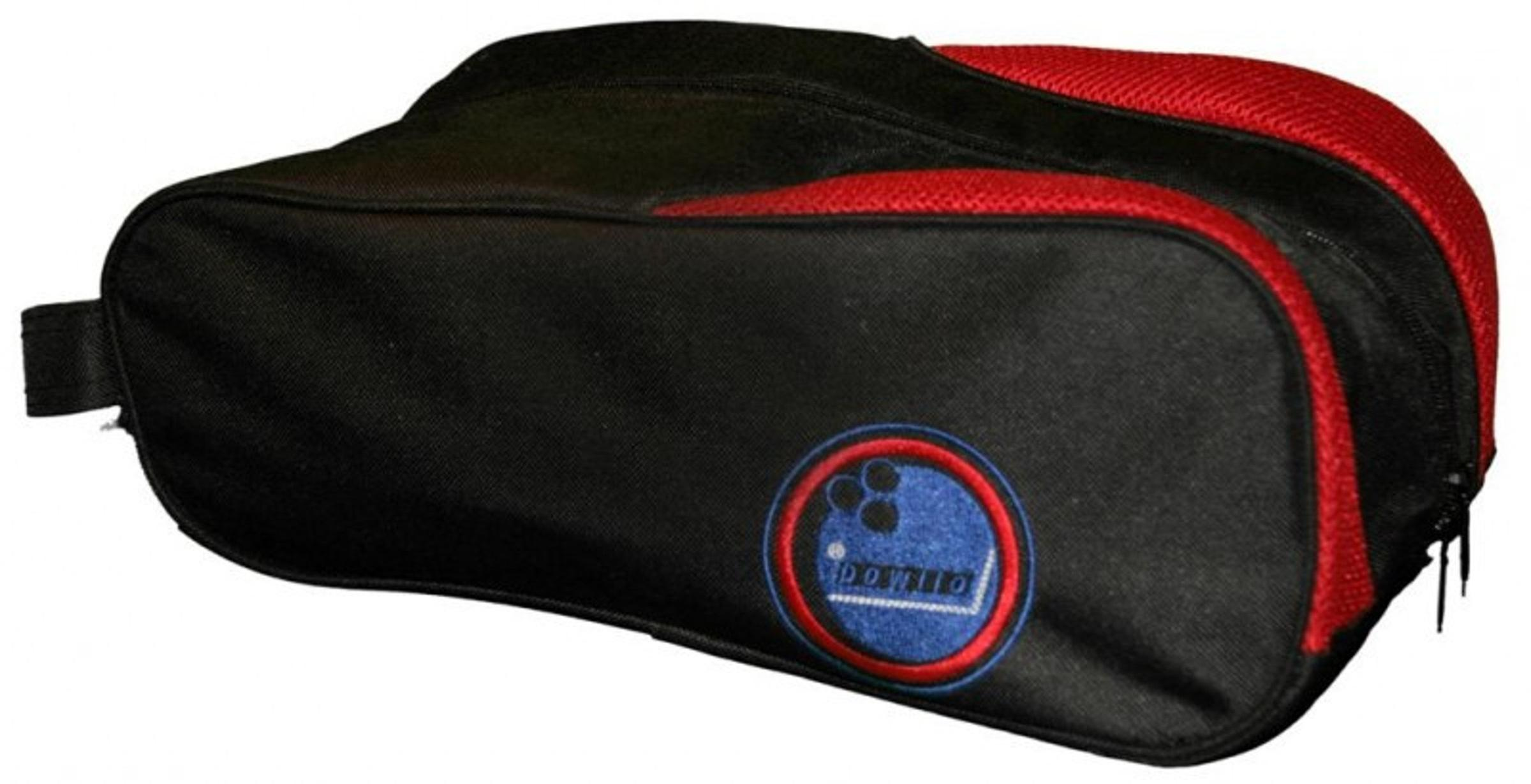 Bowling bag black red Bowling shoes and bowling accessories from Bowlio for men and women