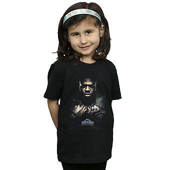 Marvel T-Shirt für Mädchen Black Panther M'Baku Poster