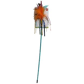 Agrobiothers Wand Multicolor Cat Toy (Cats , Toys , Teaser Wands)