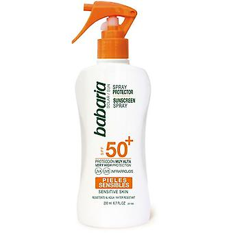 Babaria Sensitive Sunscreen Gun F50 + 200 ml