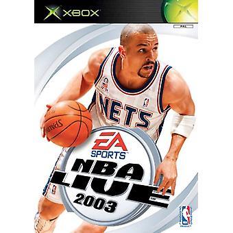 NBA Live 2003 (Xbox)