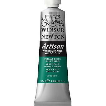 Winsor & Newton Artisan vatten blandbart olja färg 37ml (522 Phthalo Green BS S1)